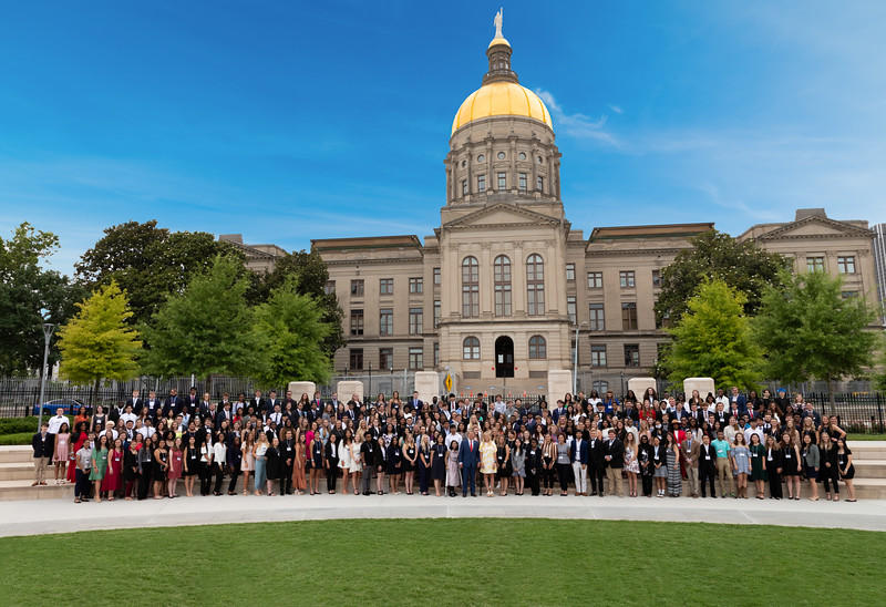 2021 Valedictorian Reception at Georgia State Capitol